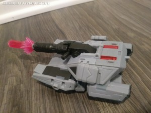 Transformers News: Video Review for Deluxe Megatron from Cyberverse Showing Transformation