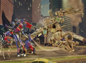 Transformers News: Rematch: Movie Optimus Prime versus Bonecrusher in exclusive Forged to Fight video
