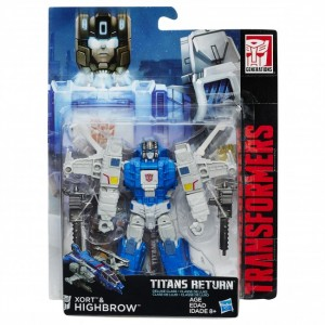 Stock Images - Transformers Titans Return Deluxes Wave 2: Mindwipe, Highbrow, Wolfwire, Chromedome
