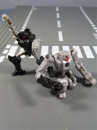 Transformers News: In Hand Images of Targetmasters Caliburst and Spoilsport