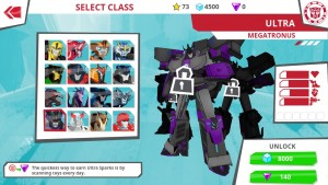 First Image of Megatronus and New Robots in Disguise Toys and Classes  Hinted in the App