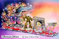 Movie Universe Bumblebee to Appear on Paramount  2012 Rose Parade Float
