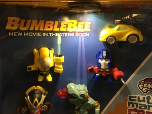 McDonald's Happy Meal Cyberverse Toys Rebranded as Bumblebee Movie Toys for US