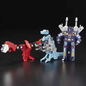 Official Images of New Siege Reveals like IDW Impactor, Powerdasher and More G1 Dino Cassette Reissues