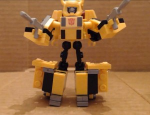 Video Review - Kre-O Battle Changers Bumblebee