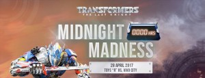 Hasbro Singapore Transformers: The Last Knight Toys Midnight Madness Event
