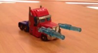 Transformers Prime Cyberverse Commander Optimus Prime Video Review and Variant Head Found