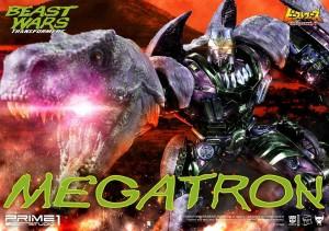 Transformers News: More Photos of Prime 1 Studio BW Megatron (PMTFBW-02)