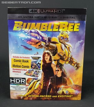 Transformers News: In-hand images and full list of special features and bonus material on Bumblebee 4K Ultra HD Blu-Ray Combo set