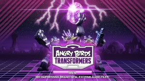 Rovio Angry Birds Transformers Mobile Game Update: Maps, Challenges, Characters