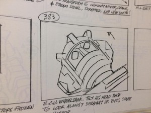 "Transformers News: Original Storyboards for Generation 1 Cartoon Episode ""City of Steel"" Up for Auction"