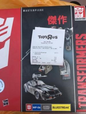 Hasbro Transformers Masterpiece Bluestreak $0.03 at Toys R Us