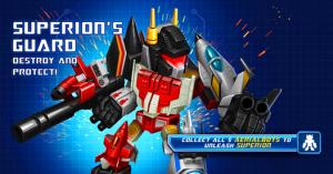 Transformers News: DeNA Transformers: Battle Tactics Update - Superion's Guard