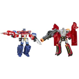 Transformers News: Platinum 'One Shall Stand, One Shall Fall' Set Half Off At Amazon.com
