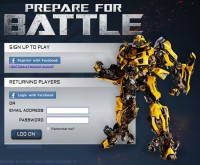 Transformers: The Ride 3D: The Game on PrepareForBattle.com is now live