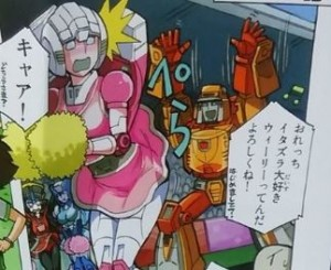 Images of the Comics Included with Takara Transformers Legends Blaster, Wheelie, Weirdwolf and Rewind