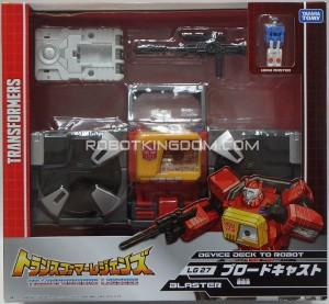 Transformers News: New Images of Takara Transformers Legends Weirdwolf, Blaster, Wheelie, Rewind and Fortress Maximus In Packaging