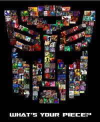 "Transformers Mosaic: ""FOTTF - Sideswipe."""