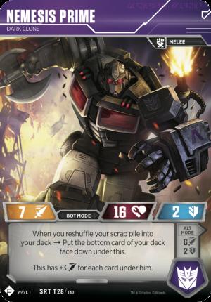 Transformers Trading Card Game Matrix of Leadership, Jetfire, Dinobot Sludge & Nemesis Prime Reveal