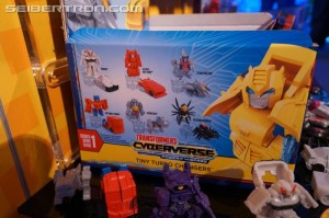Gallery for new Cyberverse and Tiny Turbo Changers toys at NY Toy Fair 2019 #tfny #hasbrotoyfair