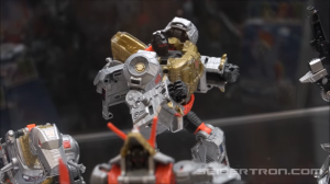 Transformers News: #Hascon 2017 Transformers: Power of the Primes Display Video, plus Volcanicus in Hand