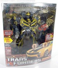 Transformers News: Featured Seibertron.com eBay Items: Costco Metallic Bumblebee, Dirge, Red Alert, Megatron, and more!
