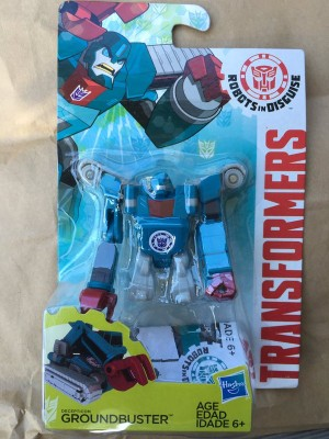 Video Review for Transformers Robots in Disguise Legion Groundbuster
