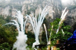 Transformers News: Transformers: Age of Extinction Filming in Wulong Karst National Geology Park - Plot Point Revealed