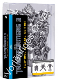 Special Edition Transformers DOTM Blu-ray with Transforming Megatron Case Listed on Amazon Germany