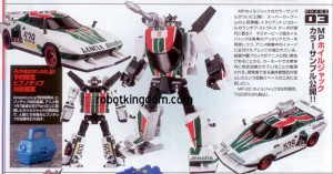 Transformers News: Full Figure Oh! Scans