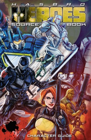 Preview for IDW Hasbro Heroes Sourcebook, feat. Transformers, GI Joe, Micronauts, Rom and More