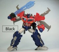 Transformers News: Takara Tomy Transformers Go! Black Repaints of Hunter G11 Optimus Prime, G05 Gekisomaru, G01 Kenzan On the Way?