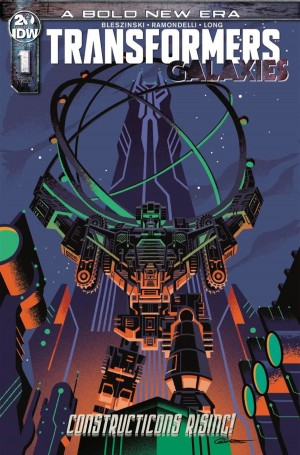 Transformers News: Transformers Galaxies #1 3 Page Preview