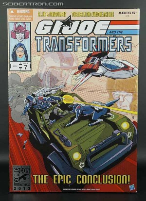 "Transformers News: SDCC 2013 Exclusive G.I. Joe / Transformers ""The Epic Conclusion"" Crossover Set Available @ HTS"
