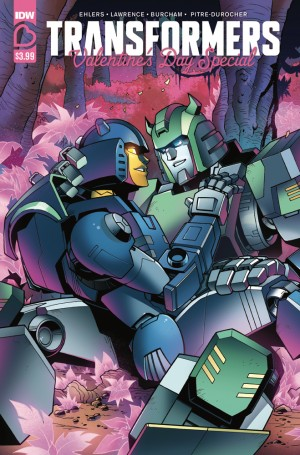 Transformers News: Review of IDW Transformers Valentine's Day Special