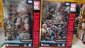 Transformers Studio Series Megatron & Brawl at US Retail
