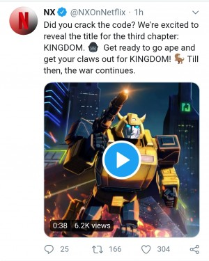 Transformers War for Cybertron: Kingdom Officially Announced As Third Line in WFC Trilogy
