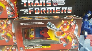 Transformers News: US Walmart Being Restocked with G1 Hot Rod Reissue Facing Correctly