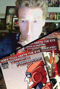 Transformers News: BotCon 2014 Special Guest Revealed: James Roberts