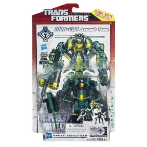Transformers News: New Official Images: Transformers Generations IDW Style Deluxe Series 4