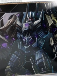 "Transformers News: Gallery of art book included with Activision's Transformers: Fall of Cybertron ""Survival Kit"""