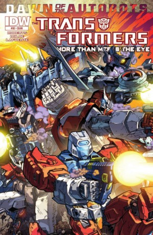 Transformers News: IDW Transformers: More Than Meets the Eye #32 Preview