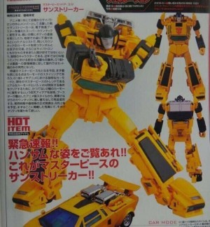Transformers News: Takara MP-39 Masterpiece Sunstreaker Revealed