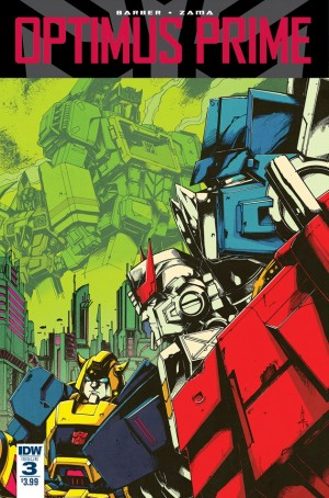 IDW Optimus Prime #3 Casey Coller Variant Cover Reveals New Characters (Spoilers)
