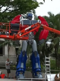 Transformers News: First Look at Transformers: Prime Optimus Prime
