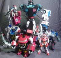 Transformers News: SickKids Charity Auction - Animated Protectobots and Emergency Response Team