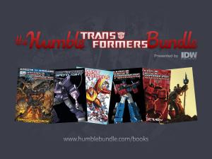SDCC 2014 Coverage - IDW Publishing Transformers Humble Bundle Press Release