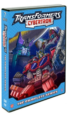 Transformers News: Transformers Cybertron: The Complete Series 7-DVD Set Hits Aug 5, 2014 From Shout! Factory