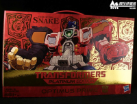 Transformers News: In-Box Pictures of Year of the Snake Platinum Edition Optimus Prime and Omega Supreme