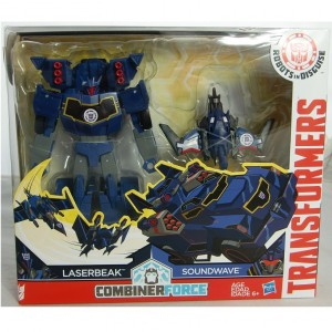Transformers News: In-Package Images of Transformers Robots in Disguise Activator Soundwave & Optimus Prime